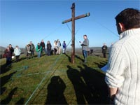 Good Friday Procession to Hooda Hill 2016