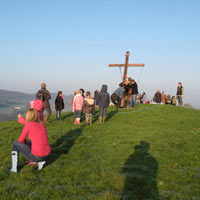 Good Friday Procession to Hooda Hill 2012